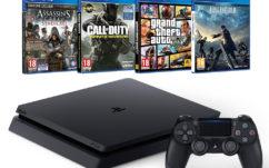Bon plan Amazon : PS4 Slim + 4 jeux à 349€ et Xbox One S + 5 jeux à 299€