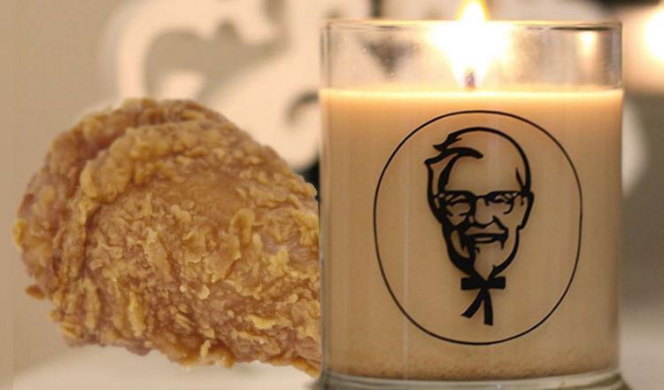 KFC lance une bougie parfumé à la friture de poulet que vous allez adorer, si vous êtes un vrai fan...