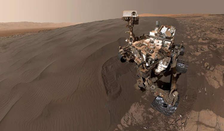 Ces images de mars prises par le robot Curiosity sont à couper le souffle