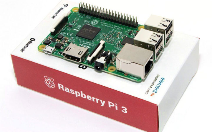 Bon plan GearBest : Raspberry Pi 3 Model B moins cher à 28,69 euros