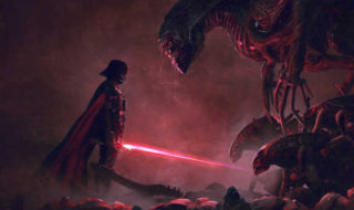 Si Star Wars rencontrait Alien, cela ressemblerait à ça !