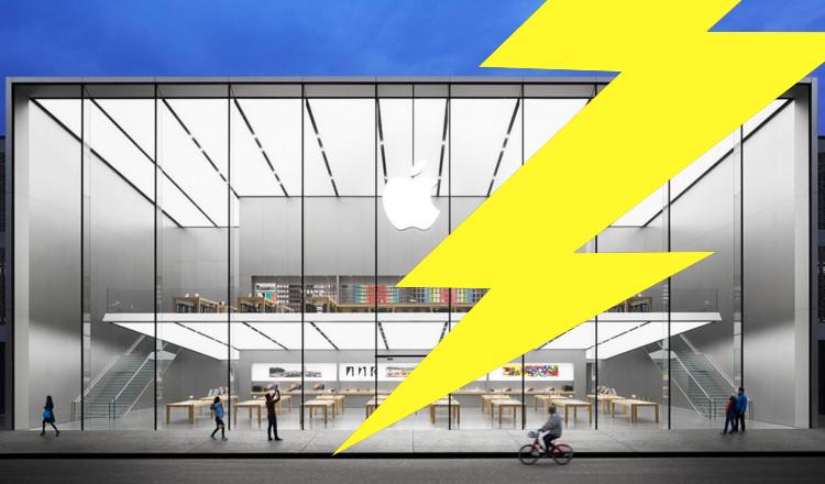 Un apple store américain a subi deux cambriolages éclair par le même gang à 4 jours d'intervalle !