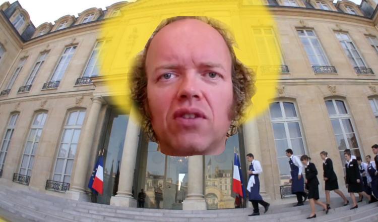 """Sylvain Durif, alias le """"christ cosmique"""" se présente à la présidentielle"""