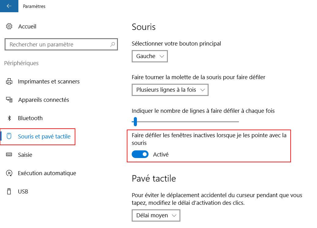 Windows 10 comment faire d filer les fen tres inactives for Fenetre windows outils