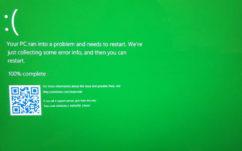 Windows 10 Insiders : les «écrans bleus de la mort» deviennent verts !