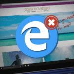 Il est possible de supprimer Microsoft Edge de Windows 10 : voici comment