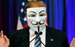 Anonymous vs Trump : les hackers déclarent la guerre au président des Etats-Unis