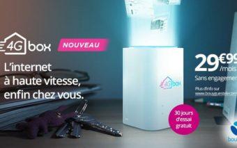 4G box : Bouygues dévoile sa box 4G illimitée à 29,99€ par mois