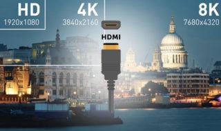 Au CES la norme HDMI 2.1 a été dévoilée avec des débits qui explosent pour le 8K et la VR
