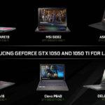 ces 2017 nvidia annonce gtx 1050 ti pour ordinateurs portables