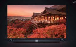 CES 2017 : Xiaomi dévoile Mi TV 4, écran borderless «plus fin que l'iPhone 7»
