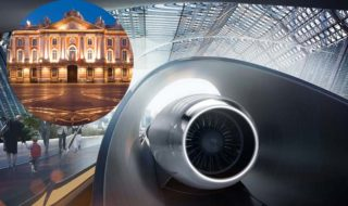 hyperloop elon musk sera aussi developpe france toulouse