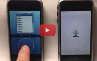 iPhone : les premiers prototypes d'iOS étaient très moches, la preuve en vidéo