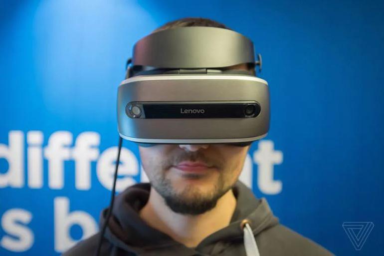 CES 2017 : Lenovo dévoile son casque VR Windows Holographic à prix abordable