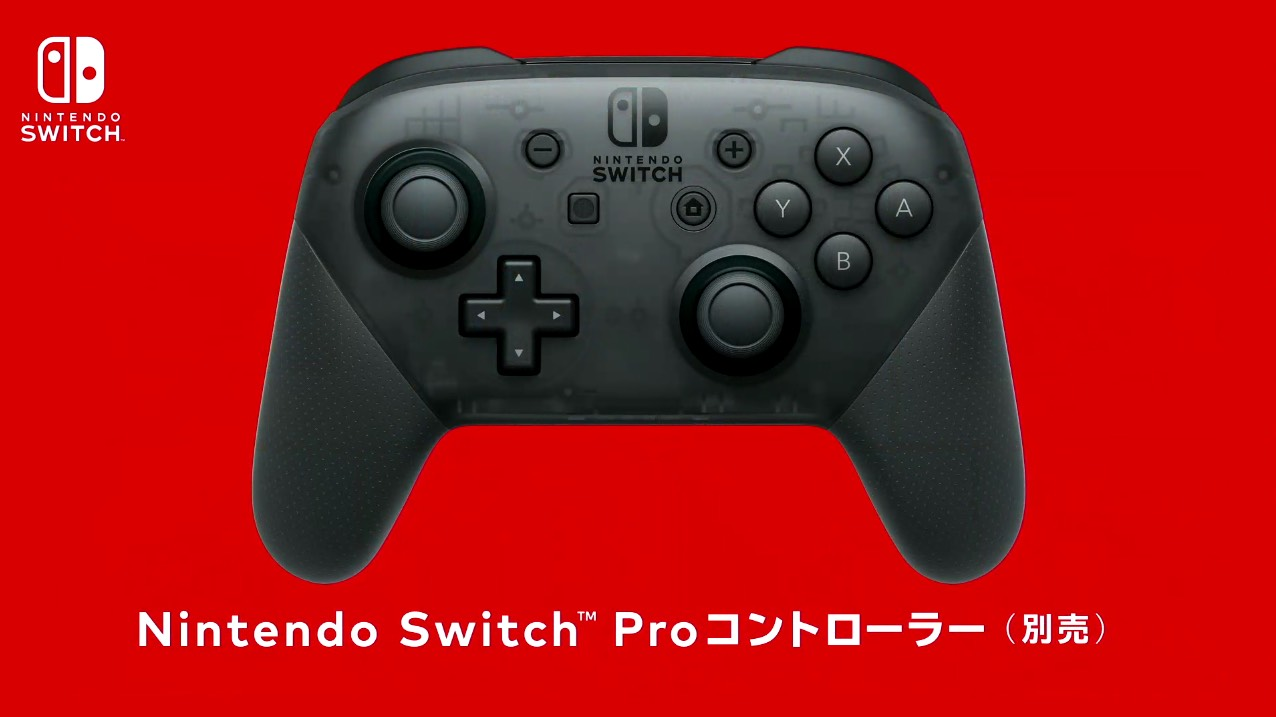 nintendo switch controller pro
