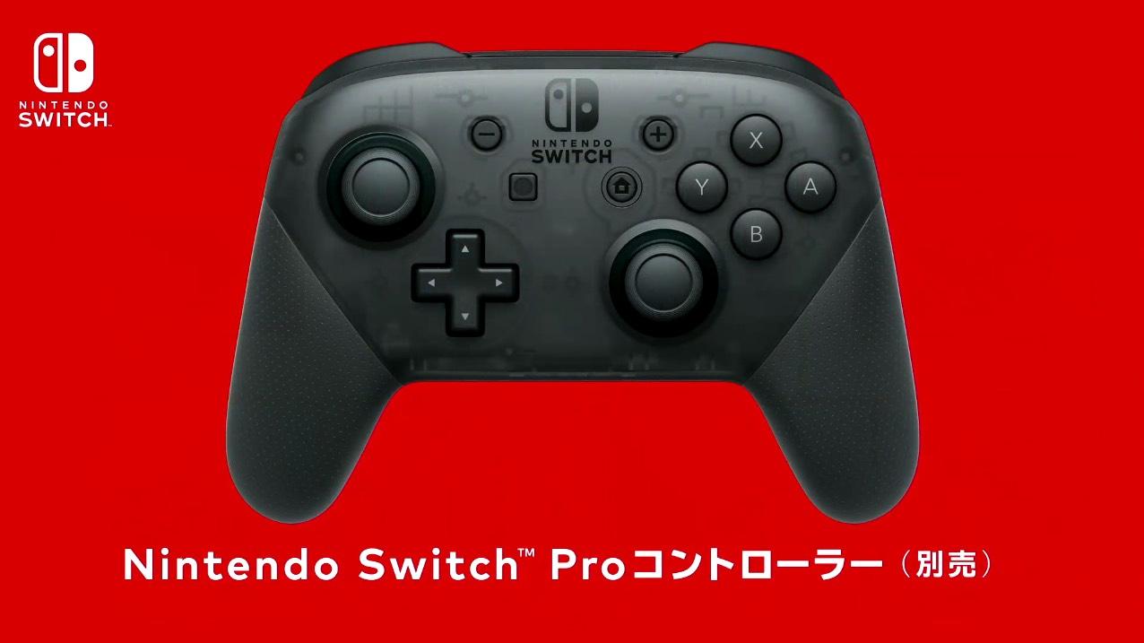 nintendo switch controller pro