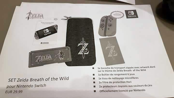 Nintendo Switch  les 17 accessoires et leurs prix dévoilés avant l\u0027heure