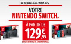 Nintendo Switch à 129€ : Micromania lance son offre de reprise !