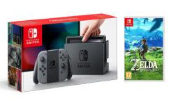 Nintendo Switch : Amazon baisse encore le prix de la console et du pack Zelda !