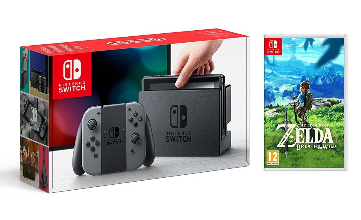 nintendo switch pack zelda