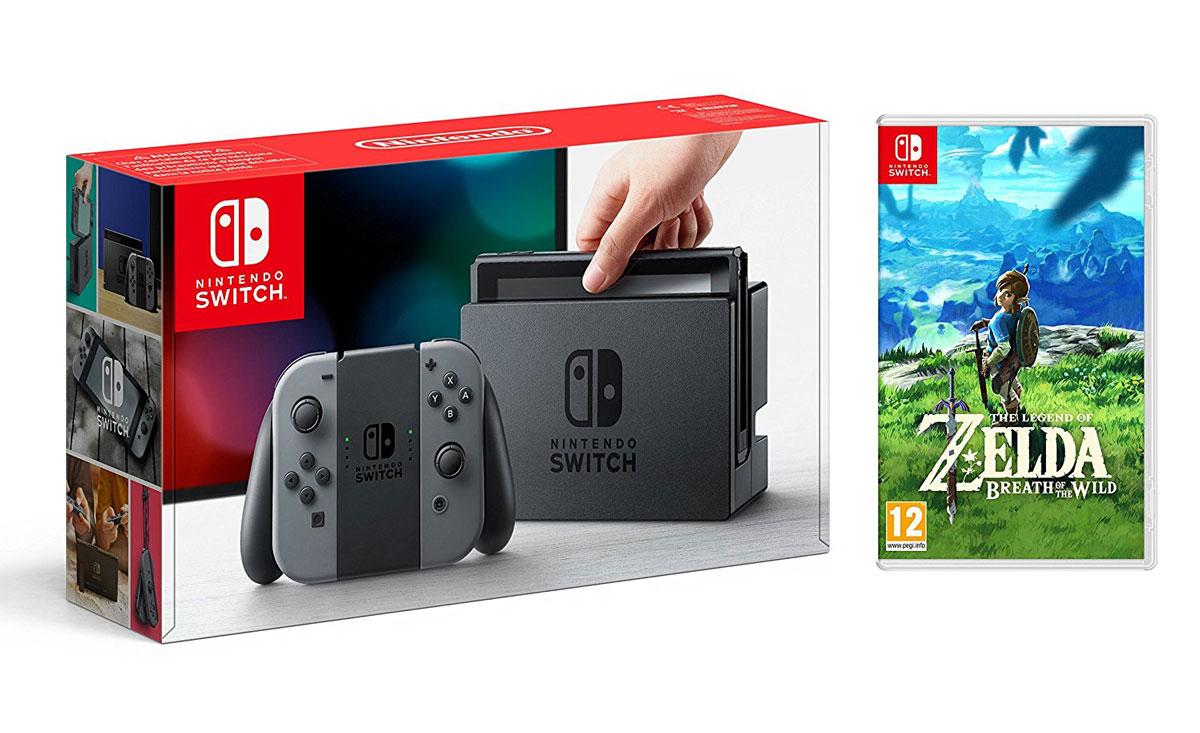 Nintendo switch zelda prix