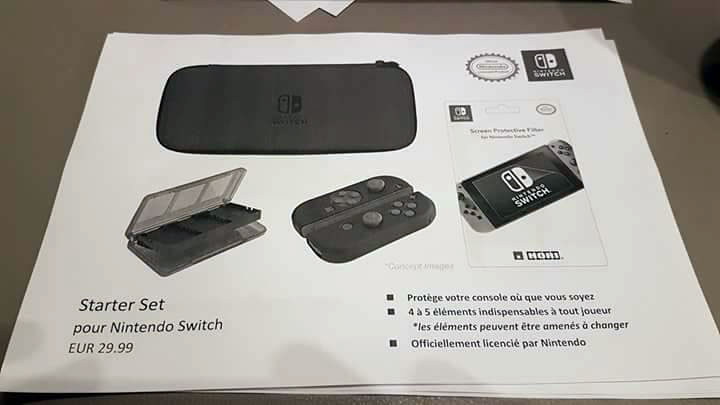 nintendo switch starter set