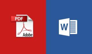 convertir PDF Word