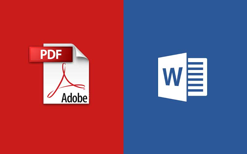 Comment transformer un fichier PDF en document Word