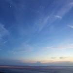 Sauriez-vous dire pourquoi le ciel est bleu et non pas totalement transparent ?