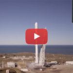 spacex lancements falcon 9 reprennent 10 satellites coup en video