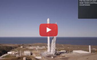 SpaceX : revivez le lancement réussi de la Falcon 9, en vidéo