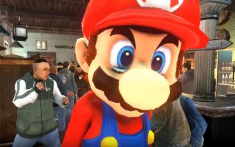 Quand Mario se paye une strip-teaseuse dans GTA, ça va trop loin [Vidéo]