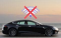 Tesla : ne vous garez jamais en «zone blanche» sans vos clés, c'est risqué