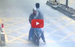 Vidéo : un maître Kung-Fu qui rattrape un voleur d'iPhone, ça fait mal