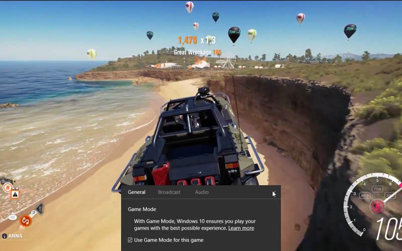 windows 10 microsoft donne details mode jeu video