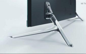 xiaomi mi tv 4 CES pieds transparents