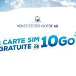 Bon plan Bouygues : Carte SIM gratuite de 10 Go