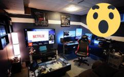 Cet espace détente, bureau et gaming est incroyable !