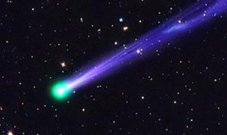 comete etrange couleur verte fonce vers terre observez cette semaine