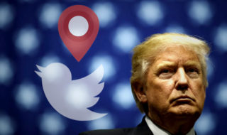 Donald Trump peut être suivi à la trace via Twitter, le cauchemar du Secret Service