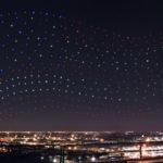 Drones show super Bowl