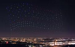 Lady Gaga : 300 drones Intel durant sa performance au Super Bowl !
