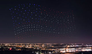 Lady Gaga : 300 drones Intel durant sa performance au Super Bowl !