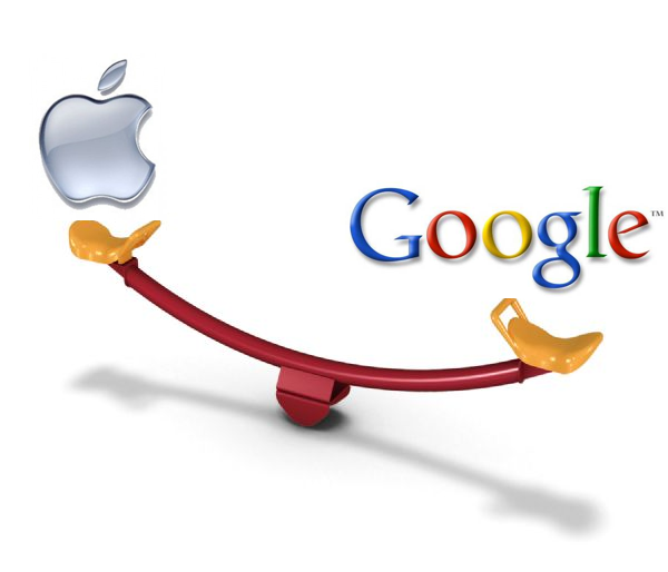 Apple marque Google
