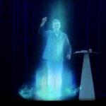 hologramme melenchon vraiment bluffe tout le monde comment ça marche