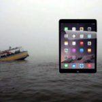 iPad accident