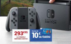 Nintendo Switch à Carrefour : Meilleur prix de lancement (293.95€) + 10€ offerts sur la carte fidélité