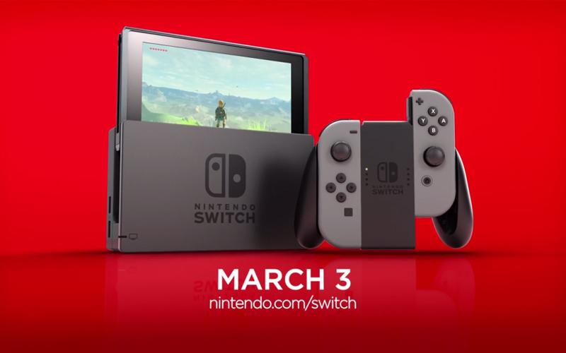 Nintendo Switch : les éditeurs se bousculent, plus de 100 jeux en préparation