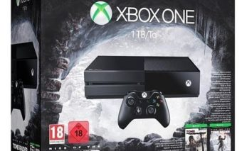 Bon plan : Xbox One 1 To + Rise Of The Tomb Raider + Tomb raider Definitive Edition à 199 €