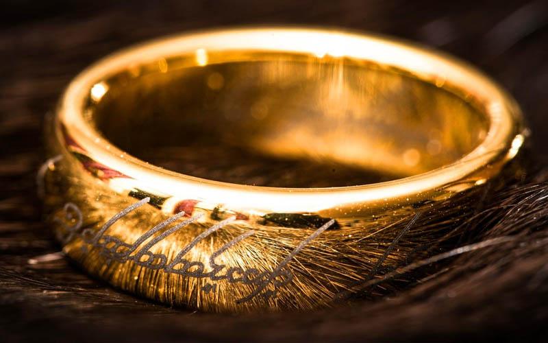 replique anneau seigneur anneaux